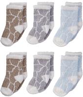 Little Giraffe - Lollipop Box of Socks - 6 pairs (Infant)