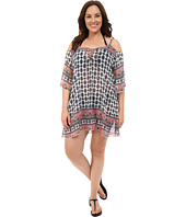 BECCA by Rebecca Virtue - Plus Size Belly Dancer Tunic Cover-Up