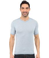 Agave Denim - Mighty Mo Short Sleeve Striped V-Neck