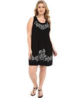 Karen Kane Plus - Plus Size Print Tank Dress