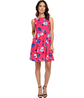 Adrianna Papell - Poppies Printed Fit & Flare