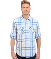 True Grit - Beachhouse Plaid Combed Cotton and Vintage Wash Long Sleeve Shirt