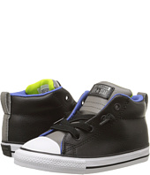 Converse Kids - Chuck Taylor® All Star® Street Mid Leather (Infant/Toddler)