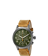 Timex - Expedition Scout Chrono Leather Slip-Thru Strap