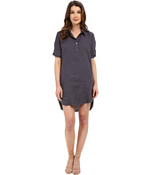 Allen Allen - Roll Sleeve Shirtdress