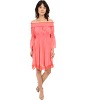 Adrianna Papell - Crinkle Chiffon Dress