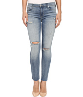 Hudson - Shine Mid-Rise Ankle Skinny Raw Hem in Rescue Mission