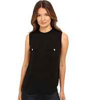 DSQUARED2 - Silk Georgette Sleeveless Top