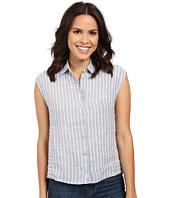 Mavi Jeans - Linen Stripe Button Up Top
