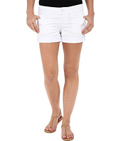 Hudson - Croxley Mid Thigh Shorts in White