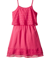 Us Angels - Textured Chiffon Cami Popover w/ Full Banded Skirt (Big Kids)