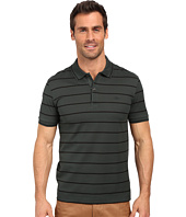 Lacoste - Slim Fit Polo in Striped Mercerized Piqué