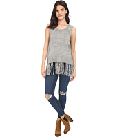 Brigitte Bailey - Fringe Bottom Sleeveless Tunic