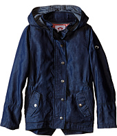 Appaman Kids - Super Soft Denim and Lined Hooded Decker Jacket (Toddler/Little Kids/Big Kids)