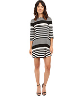 Christin Michaels - Khloe Multi Stripe Dress