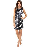 Christin Michaels - Matte Sequin Dot Dress