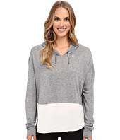 The Beginning Of - Cashmere Modal Emma Blocked Hoodie