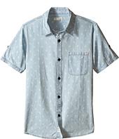 Appaman Kids - Vintage Inspired Button Up Shirt with Angler Fish Print (Toddler/Little Kids/Big Kids)