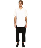 D.GNAK - Traditional Collar Layered T-Shirt