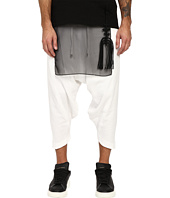 D.GNAK - Diagonal Hem Cropped Pants