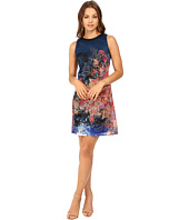 Christin Michaels - Scarlett Printed Lace Dress