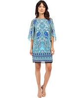 Christin Michaels - Michelle Paisley Shift Dress