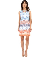 Christin Michaels - Beaded Neck Tribal Dress