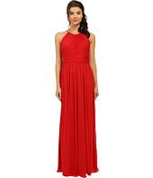 rsvp - Maya Pleated Halter Gown