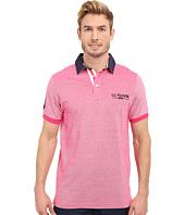 U.S. POLO ASSN. - Solid Pique Polo Shirt w/ Contrast Collar