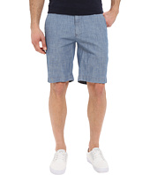 U.S. POLO ASSN. - Flat Front Chambray Shorts