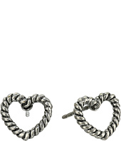 Marc Jacobs - Rope Hearts Studs Earrings