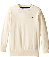 Tommy Hilfiger Kids - Long Sleeve Alan Crew Neck Sweater (Big Kids)