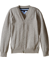 Tommy Hilfiger Kids - Long Sleeve Liam Cardigan (Big Kids)