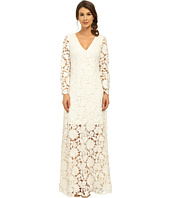 Badgley Mischka - Long Sleeve Lace Gown