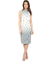 Badgley Mischka - Sleeveless Printed Dress