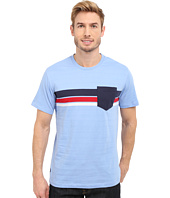 U.S. POLO ASSN. - Chest Stripe Crew Neck Pocket T-Shirt