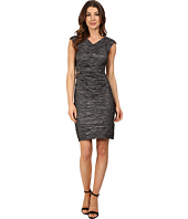 Calvin Klein - Cap Sleeve Dress with Beading on Side CD6B2ZHU