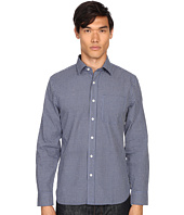 Jack Spade - Grant Mini Check Point Collar Shirt