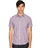 Jack Spade - Clift Short Sleeve Point Collar Shirt