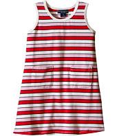 Toobydoo - Tank Dress Multi Pink Stripe (Infant/Toddler)