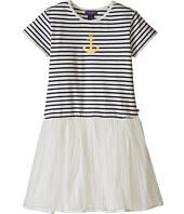 Toobydoo - Short Sleeve Tulle Dress (Toddler/Little Kids/Big Kids)
