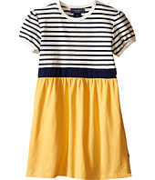 Toobydoo - Short Sleeve Dress w/ Yellow Skirt (Infant/Toddler)
