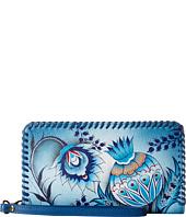 Anuschka Handbags - 1134 Zip Round Wrislet With Removable Strap