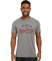 The Original Retro Brand - Tri-Blend Short Sleeve You Had Me At Bacon Tee
