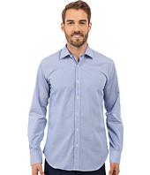 BUGATCHI - Nice Shaped Fit Long Sleeve Woven Shirt