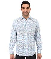 BUGATCHI - Leonardo Classic Fit Long Sleeve Woven Shirt