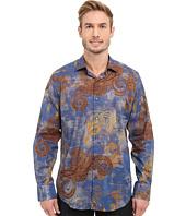 BUGATCHI - Rome Classic Fit Long Sleeve Woven Shirt