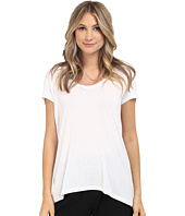 HEATHER - Scoop Neck Tee