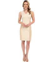 Ellen Tracy - Hopsack Fitted Sheath Dress