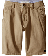 Rip Curl Kids - Epic Stretch Chino Walkshorts (Big Kids)